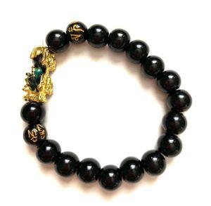 Pi Xiu Black Obsidian Energy Bracelet