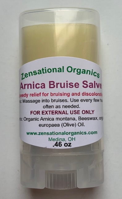 Organic Skin Care - Arnica Bruise Salve
